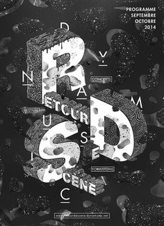 RDS Poster by Patrick Garbit http://www.fromupnorth.com/beautiful-poster-designs-1102/