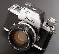 Nikon F Photomic Tn with 55mm f/1.2 Lens