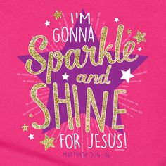 Sparkle and Shine Kerusso Kids Christian T-Shirt Youth Sizes Free U.