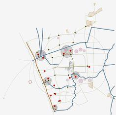 Urban Analysis, Site Analysis, Architecture Mapping, Architecture Drawings, Urban Mapping, Human Traffic, Map Diagram, Mental Map, Urban Design Plan