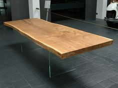 Solid wood table 0130 by holz elf