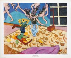 Still Life with Dance Affiche par Henri Matisse sur AllPosters.fr
