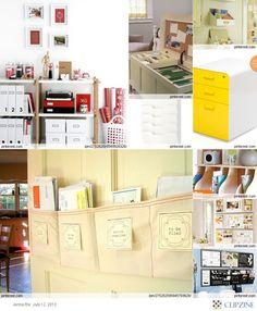 Creative Office Organising!