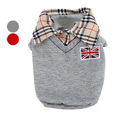 Chaleco Con Camiseta de Cuello para Perros (XS-XL- Colores Surtidos) – USD $ 17.99