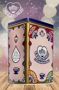 Rooibos Rocks Tea Sampler Tin - 4 delicious flavors to savor, perfect for warming you this winter. Includes Natural Rooibos, Green Rooibos, Rooibos Chai and Honeybush. Rooibos Chai, Elixir Of Life, Tea Tins, Tea Caddy, Tea Art, Vintage Tins, How To Make Tea, High Tea, Alice In Wonderland