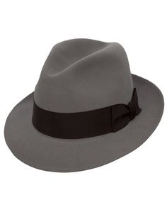 5d62828488c Stetson Saxon Caribu Fedora Felt Hat Best Black Outfits