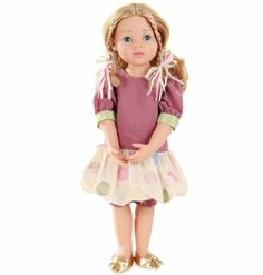 Gotz 1366020 Classic Kidz, Lena, multi-articulated standing doll with 9 joints, 50 cm, blond hair, blue eyes: Amazon.it: Giochi e giocattoli...