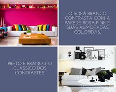 Casa Sem Rótulos, Fundamentos do design de interiores, Ritmo, Contraste