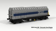 TOPS Code KIB - Telescopic Hood Wagon | Flickr - Photo Sharing!
