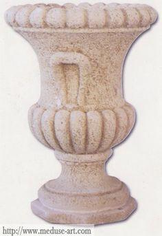Vase granulé