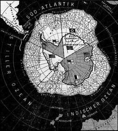Duitse kaart die duidelijk maakt hoe Antarctica is verdeeld - Deutsche Zeitung… Operation Highjump, Antarctica, Anthony Johnson, Political Strategy, European People, 13 Colonies, Flat Earth, North Africa, Deutsch