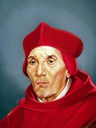 St. John Fisher, bishop killed at the hands of King Henry VIII for defending marriage and the pope: O God, by Whose grace Thy Blessed Bishop John gladly laid down his life on behalf of truth and right, grant that we also, through his intercession, may lose, if need be, our life born for Christ's sake, to find it hereafter in heaven. Through the same Christ our Lord. Amen.