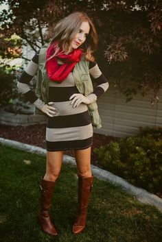 fall-this dress is super cute & could do so much with it, very versatile!