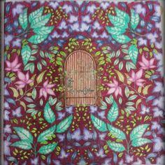 Secret Garden Door, Garden Doors, Johanna Basford, Coloring Books, Kids Rugs, Painting, Home Decor, Art, Garden