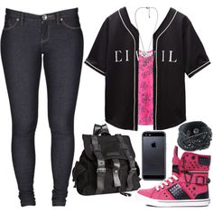 Untitled #486 by lo-mackenzie on Polyvore featuring Civil, Dr. Denim, Pastry, Joe's Jeans, Forever 21 and Tavik Swimwear