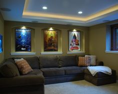 Home Theater Room small home theater basement ideas | luxury homes & interiors