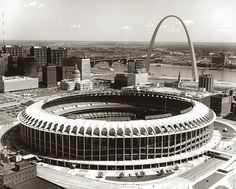 the old Busch Stadium by Missouri History Museum, via Flickr