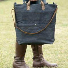 Wear it 4 different ways. #bag #diaperbag #convertiblebag #bunny #sunglasses #denimbag #waxeddenimbag #waxedcanvas #waxed #baby #mommy #mom #etsy #dawanda #backpack #shoulderbag #handbag #playground #findonetsy #dawanda #buboxa #buboxashop Bradley Mountain, Backpacks, Shoulder Bag, Photo And Video, Sunglasses, Baby, Patterns, Denim, Instagram