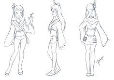model sheets anime - Buscar con Google