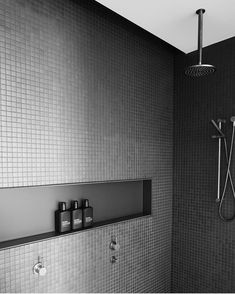 """1,906 mentions J'aime, 12 commentaires - A Design Concept Store (@simple.form) sur Instagram : """"•• Bold, black and oh so masculine. Grid tiles and Hunter Lab at Morning Peninsula's…"""""""