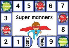 Mind your super manners!