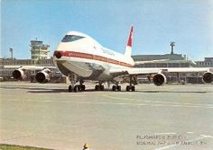 Foto Baumann Vintage Airline, Airline Travel, Civil Aviation, Boeing 747, Spacecraft, Helicopters, Towers, Airplanes, Trains