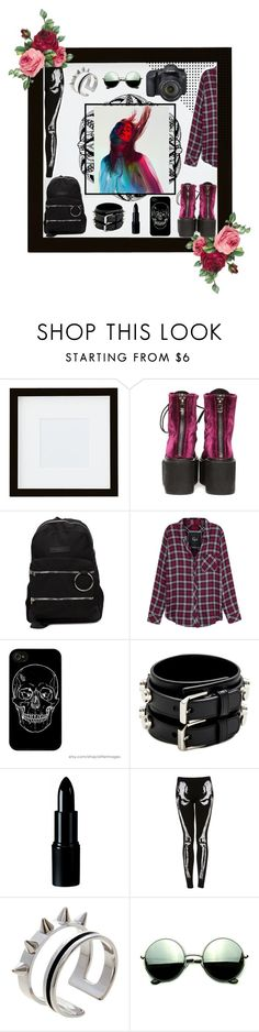 """D A R K // i  w i s h  t h a t  i  c o u l d  w a k e  u p  w i t h  a m n e s i a"" by artsy1235 ❤ liked on Polyvore featuring Pottery Barn, UNIF, Rails, Yves Saint Laurent, Eos, Maria Francesca Pepe and Revo"