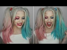 Explore Avon's site full of your favorite products including cosmetics skin care jewelry and fragrances. Maquillage Harley Quinn, Fall Makeup, Halloween Face Makeup, Harley Quinn Cosplay, Harley Quinn Halloween Costume Ideas, Halloween 20, Halloween Costumes, Skull Makeup Tutorial, Harley Queen