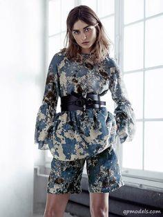 Andreea Diaconu for H&M Spring 2014 Exclusive Line - http://qpmodels.com/european-models/andreea-diaconu/6757-andreea-diaconu-for-hm-spring-2014-exclusive-line.html