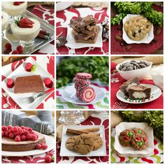 Favorite Christmas Sweets from That Skinny Chick Can Bake - Cupcakes & Kale Chips