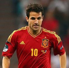 Cesc Fabregas. Don't know him but I like soccer and he's super cute