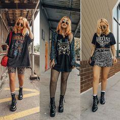 Fashion Tips School Vintage Outfits, Retro Outfits, Grunge Fashion, 90s Fashion, Fashion Outfits, Fashion Tips, Alternative Mode, Alternative Fashion, Festival Looks