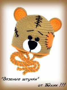 Crochet baby boy hat yarns 25 ideas for 2019 Crochet Baby Boy Hat, Crochet Headband Pattern, Crochet Kids Hats, Baby Boy Hats, Baby Hats Knitting, Crochet For Boys, Crochet Beanie, Knitted Hats, Creations