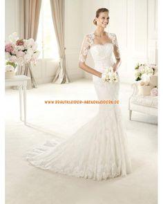 2013 Extravagante Brautkleider im Meerjungfrauenstil mit Spitze Bolero online kaufen