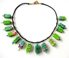 Green Hope | SOLD I made these beads when I just started wit… | Flickr