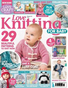 ecaebd2ded7 In this issue  29 Beautiful patterns to knit now   ul   li