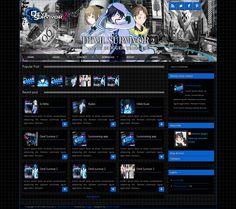 Devil Survivor 2 blogger template  http://djogzs.blogspot.com/2013/05/devil-survivor-2-blogger-template.html