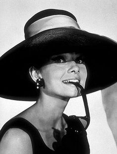 Audrey Hepburn - painted this picture freshman year in design one.