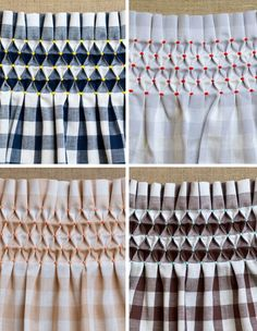 smocking gingham | classic gingham and smocking grid