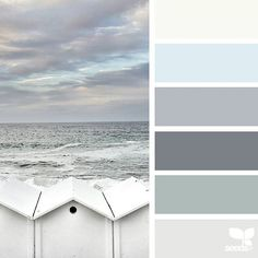 today's inspiration image for { seaside hues } is by @acciaio73 ... thank you, Cristiana, for another wonderful #SeedsColor image share!
