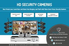 Enhance the security of your home and office by installing security systems. Wetter Solutions provide HD security cameras in Orlando with installation service. Now get best quality security products and services with your budget in mind.