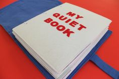binding for quiet book