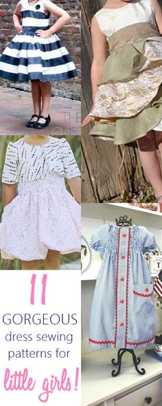 11 Gorgeous and Easy Dress Patterns for Girls That They Will Absolutely LOVE