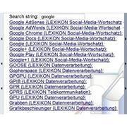 begriffe socialmedia internet EDV Leseprobe in deutsch