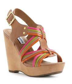 Steve Madden Women's Shoes, Tampaa Wedge Sandals