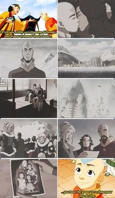 The Legend of Korra/ Avatar the last Airbender: Katara snd Aang's family and life Avatar Aang, Team Avatar, Avatar The Last Airbender, Iroh, Blade Runner, Sneak Attack, Avatar Series, Korrasami, Fire Nation