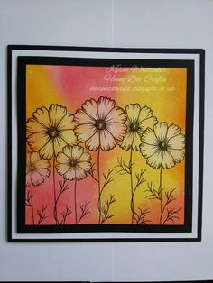 Buttercup Blooms stamp set by Honey Doo Crafts xx Honey Doo Crafts, Cardio Cards, Distress Oxides, Stamp Sets, Buttercup, Card Designs, Cool Cards, Homemade Cards, Making Ideas