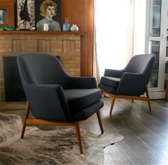 Love the simplistic clean design of these chairs.
