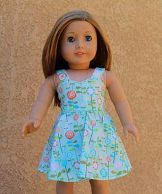 Sweetheart dress  18 inch American girl by AuntiesDollFashions, $16.00