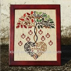 #cross stitch, #dmc cross stitch patterns, #wedding cross stitch patterns Cross Stitch Tree, Cross Stitch Heart, Cross Stitch Samplers, Cross Stitching, Cross Stitch Embroidery, Embroidery Patterns, Cross Stitch Designs, Cross Stitch Patterns, Wedding Cross Stitch